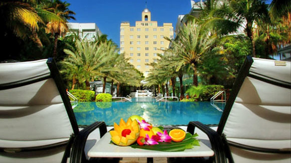 Miami Beach Hotels Coolest Pools National Hotel South
