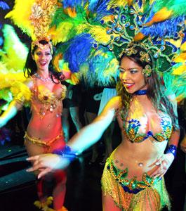 Dancers At Liv Nightclub